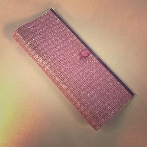 Chinese Laundry pink clutch